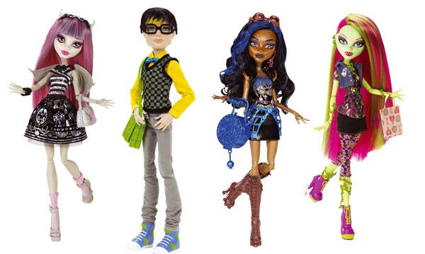 Poupée Monster High comme cadeau de Noël