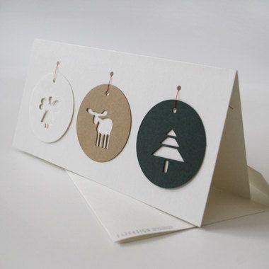 Fabriquer une belle carte de Noël