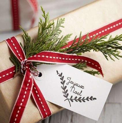 chou pour un cadeau de Noël