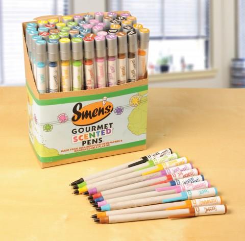 crayons parfumée comme idée cadeau à Noël
