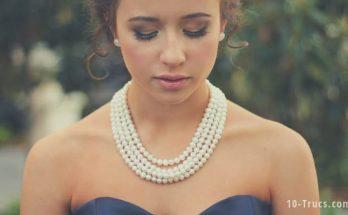 nettoyer un collier de perles, nettoyer des perles,