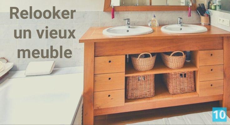 comment retaper et restaurer un vieux meuble?
