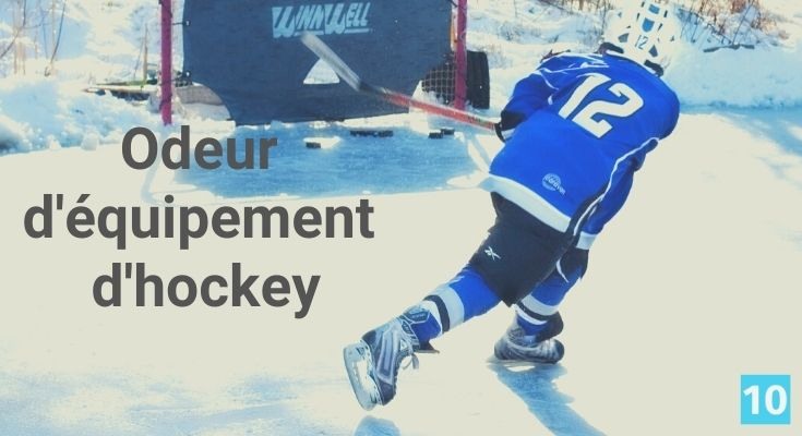 Comment enlever l'odeur d'équipement d'hockey?