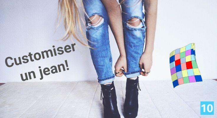 Idée pour customiser un jean