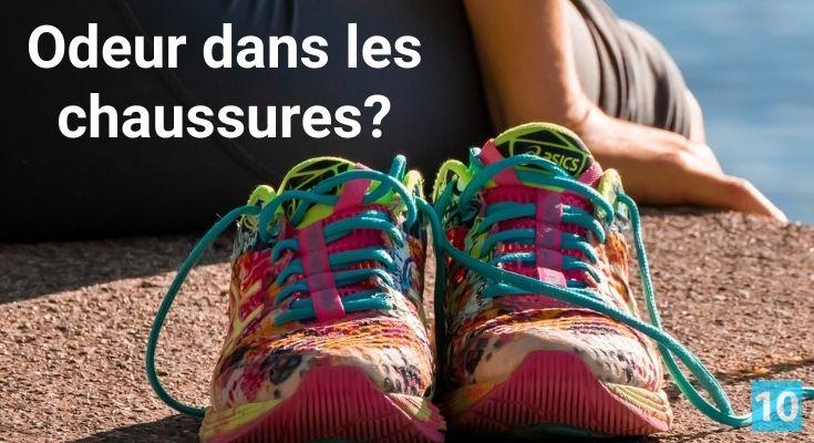 Comment enlever les mauvaises odeurs dans les chaussures?