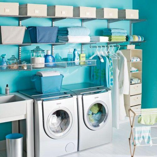 couleur salle d'eau, couleur salle de lavage,