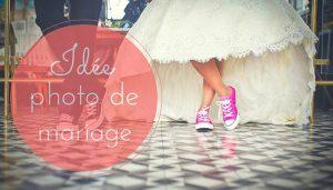 Idée pour photo de mariage original et unique