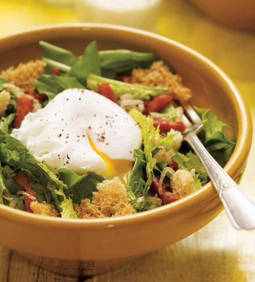 Recette de salade de pissenlit de ricardo