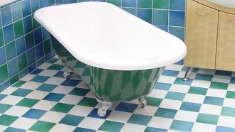 faire briller une baignoire, faire briller un bain, nettoyer la baignoire,