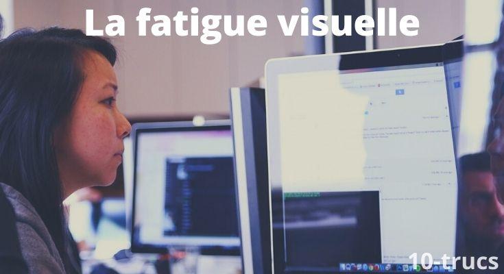 Astuce pour ne plus avoir mal aux yeux au travail à cause des écrans