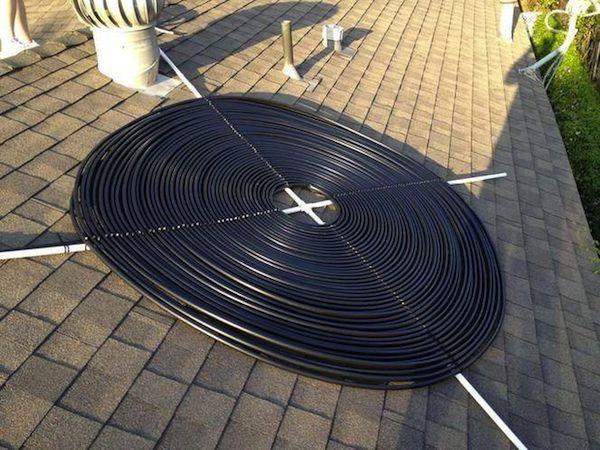 Comment chauffer sa piscine gratuitement ou presque - Fabriquer panneau solaire piscine ...