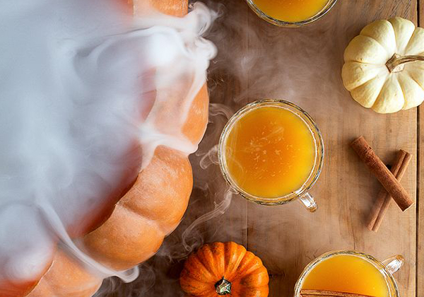 punch citrouille, punch halloween,
