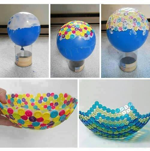 fabriquer un bol, faire un bol, bricolage bol,