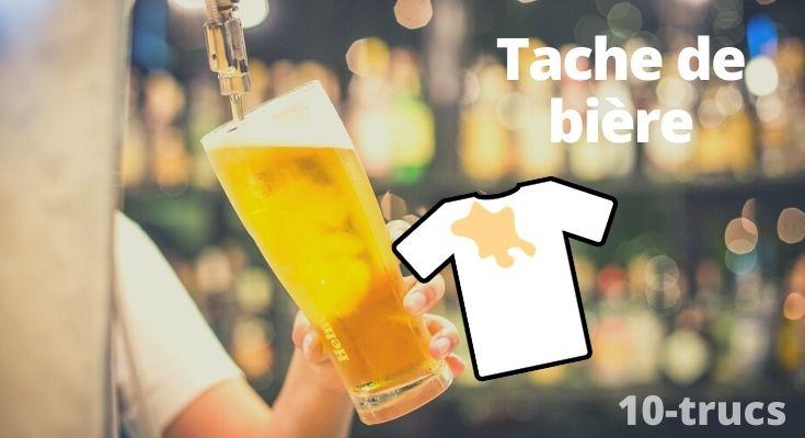 enlever tache de bière, truc tache de bière,