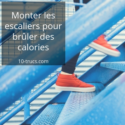 brûler des calories en montant les escaliers