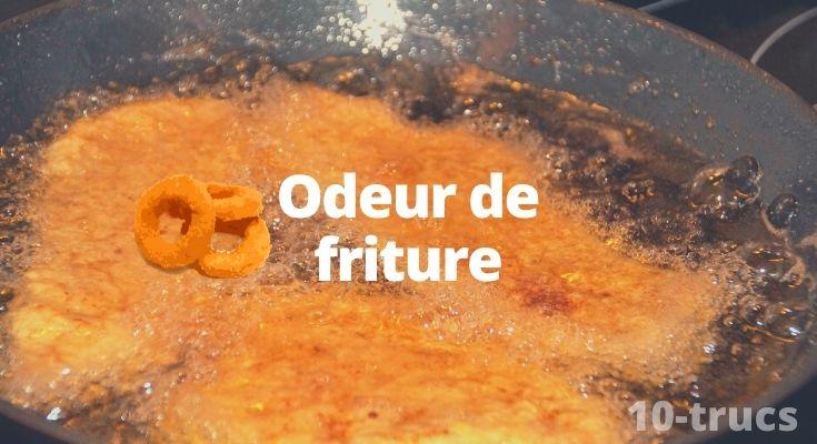 Enlever l'odeur de friture dans la maison