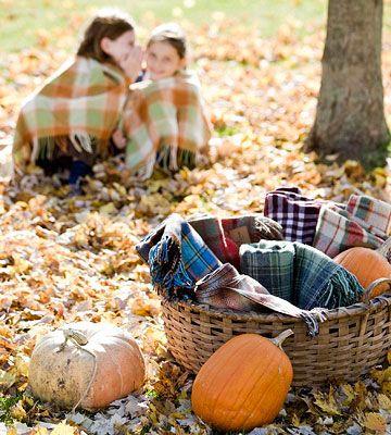 picnic automne, pique nique automne,