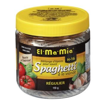 Épice et assaisonnement pour sauce à spaghetti El Ma Mia