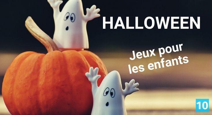 Jeux et activité pour l'Halloween pour les enfants