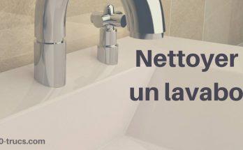 comment nettoyer un lavabo
