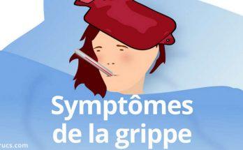 principaux symptômes de la grippe