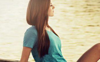 cheveux lustrés, cheveux brillants,
