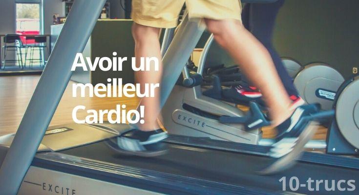 comment améliorer son cardio rapidement?