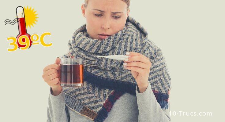 Comment faire baisser la fièvre? Quel remède contre la fièvre utiliser?