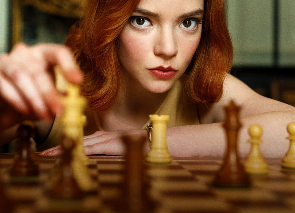 Série netflix, le jeu de la dame, une série sur les échecs