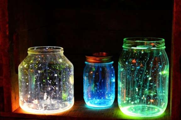 lampe fluorescente bricolage, lampe  glow stick, baton lumineux,