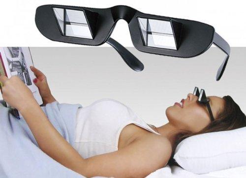 lunette à prisme, lunette pour lire couché,