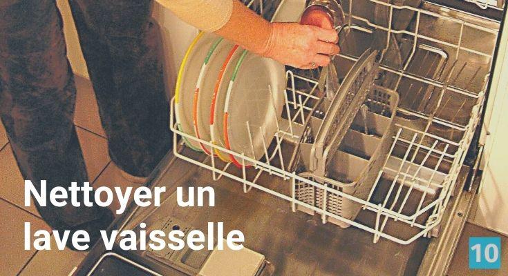 Truc pour nettoyer et désinfecter un lavevaisselle