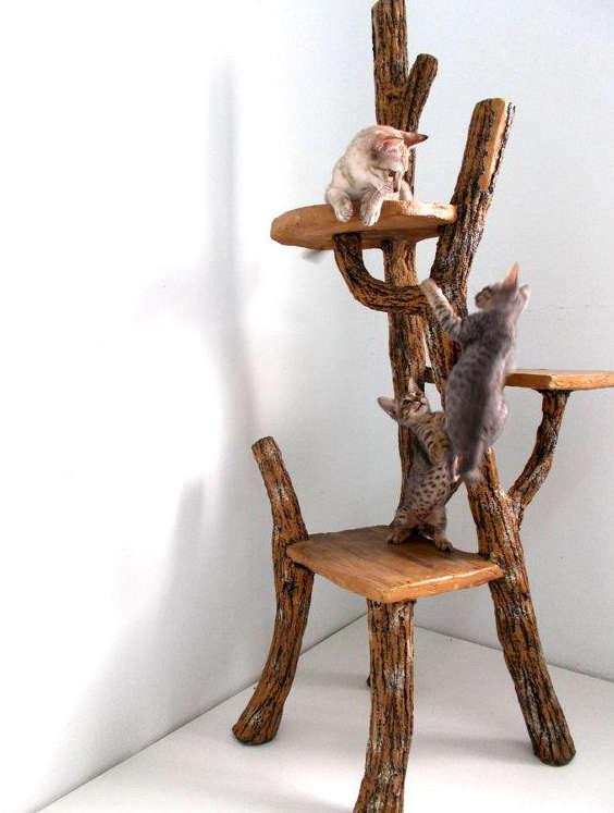 arbre a chat design, etsy tree cat, tree cat design,