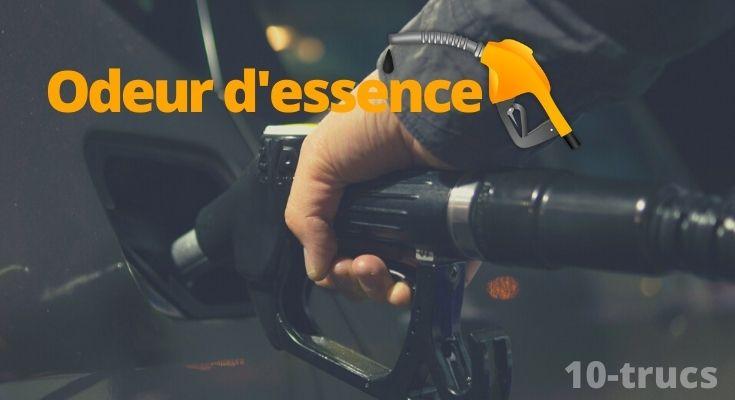 Astuce pour enlever l'odeur d'essence
