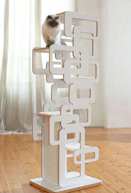 arbres à chat moderne, arbre à chat design,