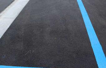 nettoyer l'asphalte, nettoyer cours en asphalte,
