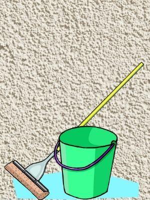 Comment nettoyer un mur en crépi intérieur?
