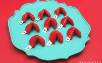 biscuit de fortune, st-valentin biscuit de fortune,