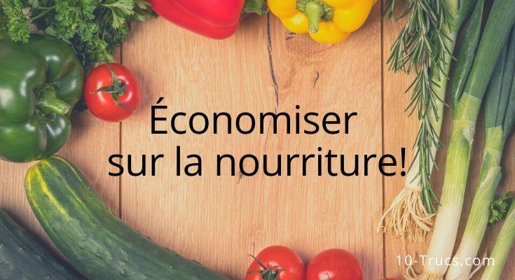 Comment faire des économies sur la nourriture