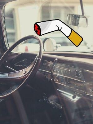 comment enlever l'odeur de cigarette dans une voiture?