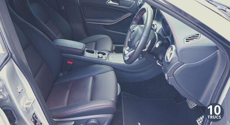 Nettoyer l'intérieur d'une voiture très sale facilement