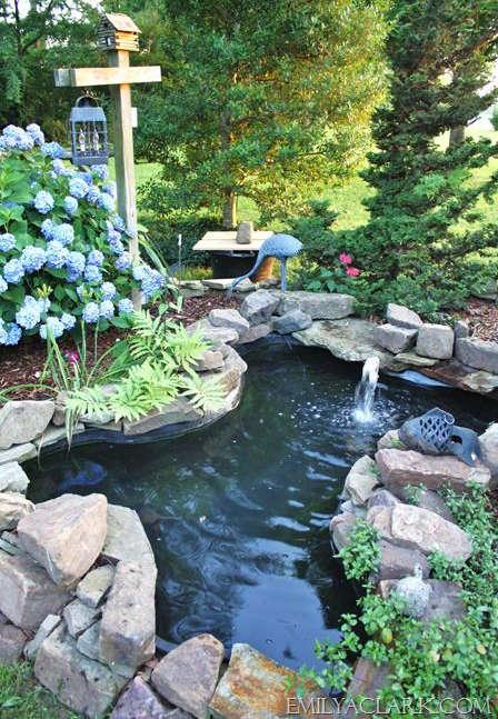 bassin d'eau, faire un bassin d'eau,