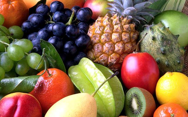 canicule fruits frais, fruits chaleur,