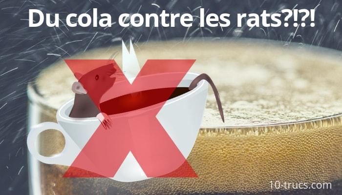 coca cola contre les rats