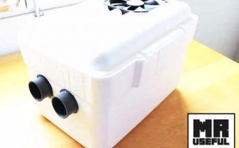 fabriquer climatiseur maison, climatisation maison,