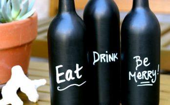 bricolage bouteille de vin, recyclage bouteille de vin,