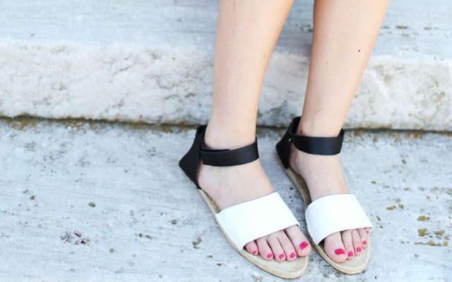 fabriquer des sandales, sandales fait maison,