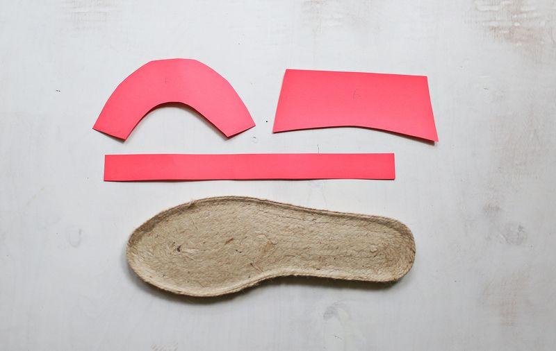 patron sandales, patron fabriquer sandales,