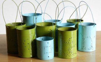 Lanterne boite de conserve, lantern can,