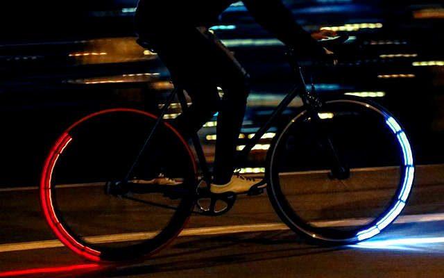 lumière led vélo, éclairage vélo,